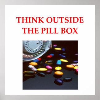 farmacéutico póster