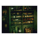 Farmacéutico - tan muchas botellas a elegir de tarjetones