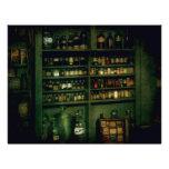 Farmacéutico - tan muchas botellas a elegir de membrete