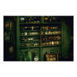 Farmacéutico - tan muchas botellas a elegir de papelería