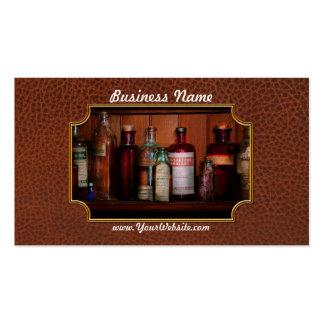 Farmacia - aceites e Inhalants Tarjetas De Visita