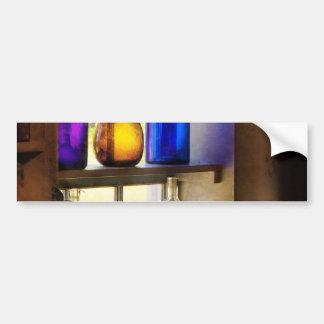 Farmacia - cristalería colorida pegatina de parachoque