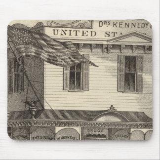 Farmacia de Estados Unidos de Kennedy, ciudad de C Alfombrillas De Ratones