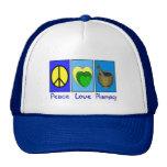 Farmacia del amor de la paz gorra