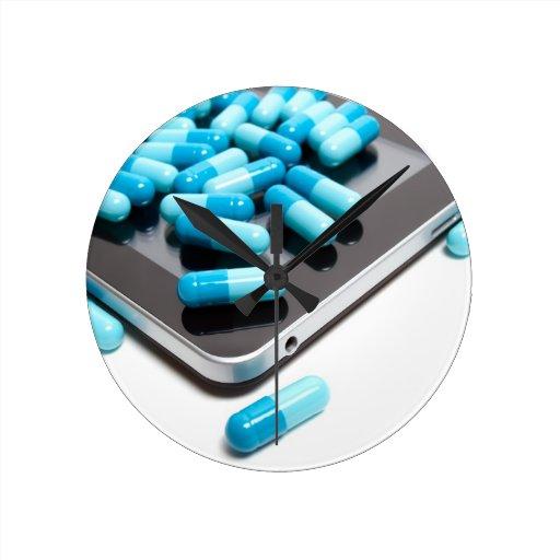 Farmacia del Internet Reloj Redondo Mediano
