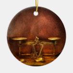 Farmacia - ejercicio de equilibrio ornamento para arbol de navidad