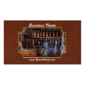 Farmacia - el amo de muchos negocia tarjetas de visita