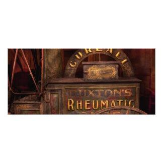 Farmacia - el carro reumático de la curación lona personalizada