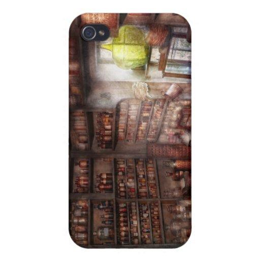 Farmacia - equipo - el estudio de MERLIN iPhone 4/4S Carcasas