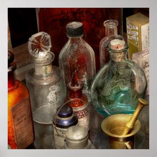 Farmacia - escoja su veneno póster