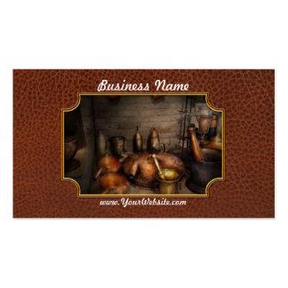 Farmacia - la cocina del alquimista tarjetas de visita