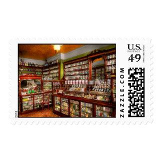 Farmacia - la farmacia de Sr. Jones 1907 Timbres Postales