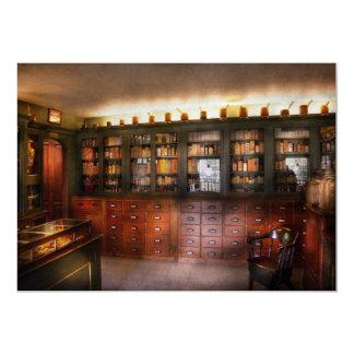 Farmacia - la tienda del boticario invitación 12,7 x 17,8 cm