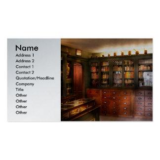Farmacia - la tienda del boticario plantillas de tarjeta de negocio