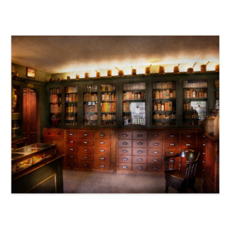Farmacia - la tienda del boticario postal