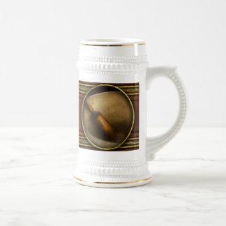 Farmacia - maja - amoladora del mortero jarra de cerveza