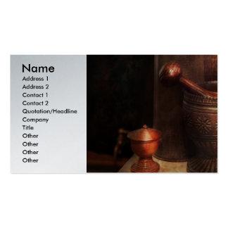 Farmacia - maja - herramientas de lujo plantilla de tarjeta personal
