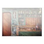 Farmacia - medicina - remedios farmacéuticos invitación 12,7 x 17,8 cm