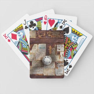 Farmacia - muestras del tiempo cartas de juego