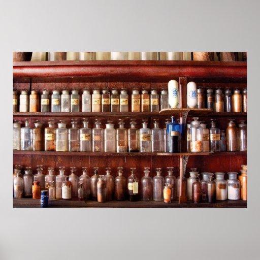 Farmacia - para el uso medicinal solamente póster