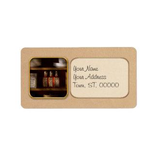 Farmacia - para todas sus necesidades de la etiquetas de dirección