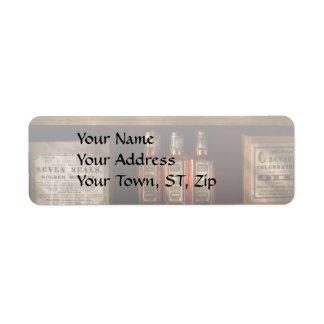Farmacia - para todas sus necesidades de la etiquetas de remite
