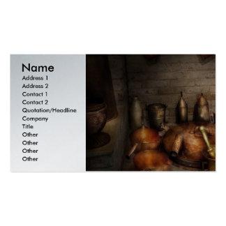 Farmacia - qué está cocinando hoy tarjetas de visita