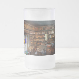 Farmacia - química medicinal jarra de cerveza esmerilada