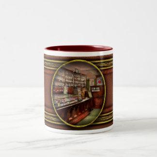 Farmacia - tenemos la solución 1934 taza de café de dos colores