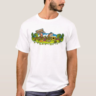 Farmaholic Logo Basic T-Shirt