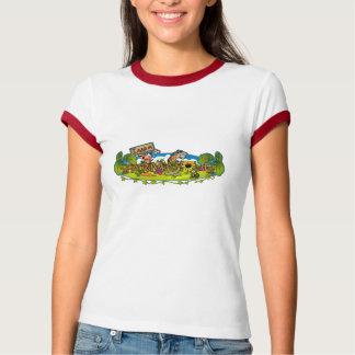 Farmaholic Logo Ladies Ringer T-Shirt
