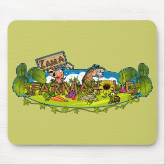 Farmaholic Logo Mousepads