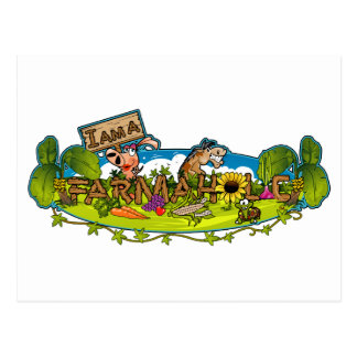 Farmaholic Logo Postcards