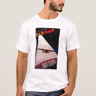 Farman Airlines Farman 300 Monoplane Promo Poster T-Shirt