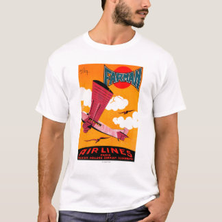 Farman Brothers Airlines F-170 Monoplane Poster T-Shirt