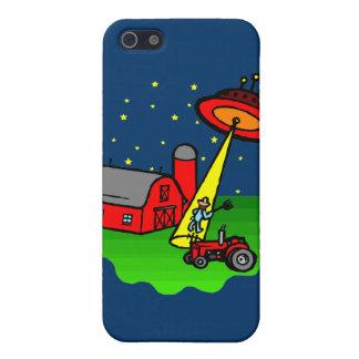 Farmer Alien Abduction Case For iPhone SE/5/5s