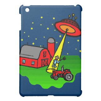 Farmer Alien Abduction iPad Mini Case