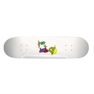 Farmer Alien Skateboard Deck
