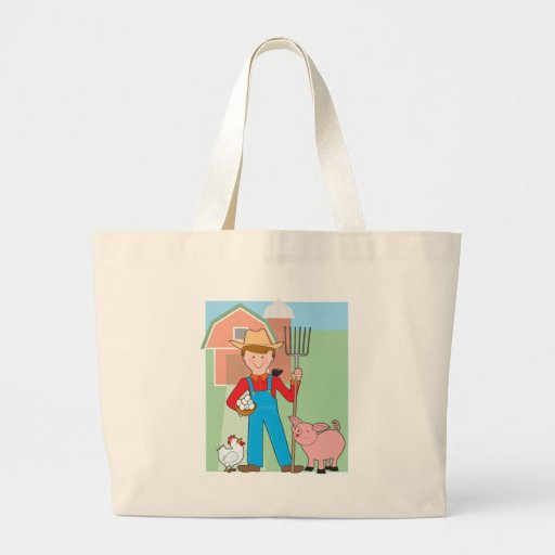 Farmer and Pig Bags