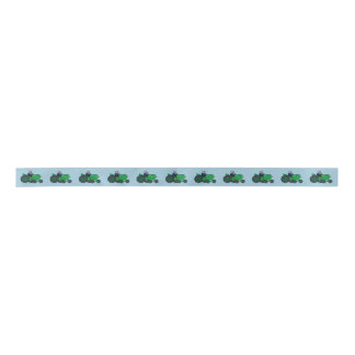 Farmer and Tractor Satin Ribbon