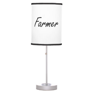 Farmer Artistic Job Design Table Lamp