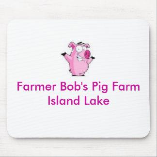 Farmer Bob's Pig Farm Mouse Pad