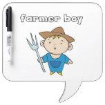 Farmer Boy Dry-Erase Whiteboard