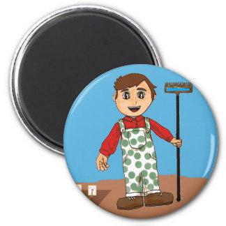 Farmer boy magnet