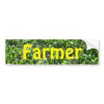 Farmer Bumper Sticker