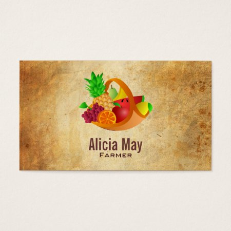 Fresh Fruit Farmer Profile Cards