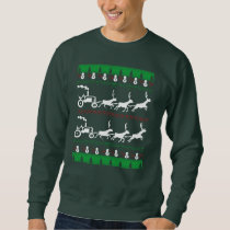 FARMER CHRISTMAS SWEATSHIRT