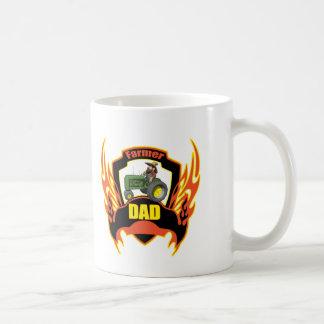 Farmer Dad Fathers Day Gifts Coffee Mug