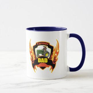 Farmer Dad Fathers Day Gifts Mug
