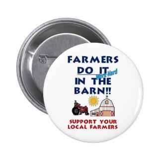 Farmer do it in the barn buttons